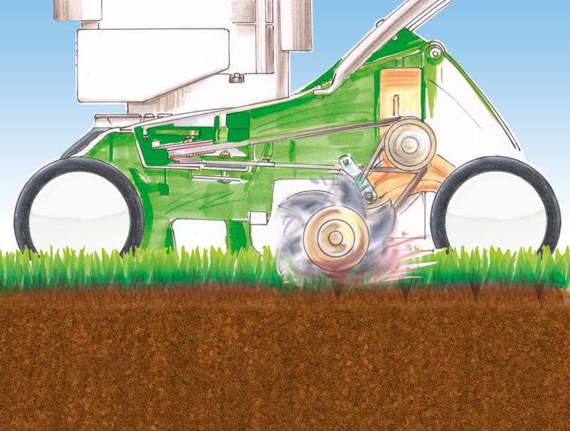 Chi usa l 39 arieggiatore giardinaggio magazine la - Cosa mettere al posto dell erba in giardino ...