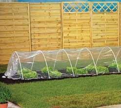 Una serra economica giardinaggio magazine la rivista online dedicata al giardino - Costruire una serra in casa ...