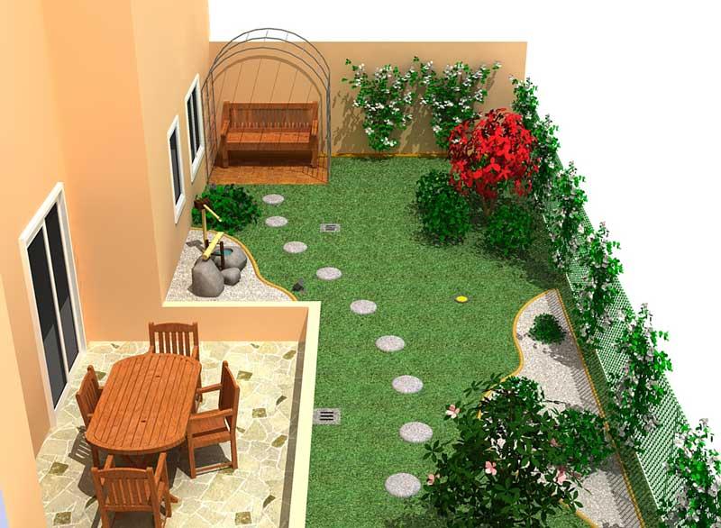 Impariamo a progettare il verde giardinaggio magazine for Progetti di giardini